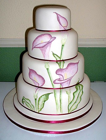Although This Design Is Not Seen Much On Wedding Cakes In Trinidad And Tobago Internationally It Has Been Trending A As Such Would Be Ideal For