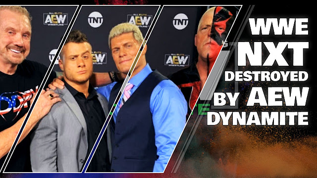 AEW Dynamite BEATS WWE NXT for the Fourth Time • All Elite Wrestling News