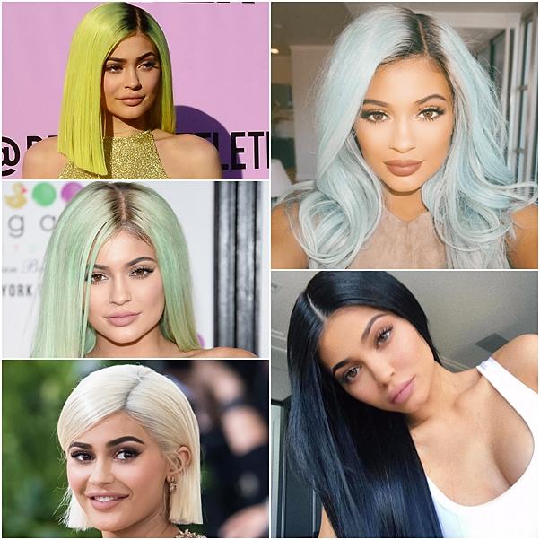 cabelo das celebridades wigs kylie jenner