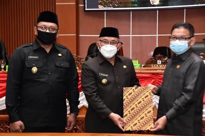 DPRD Setujui LPJ Walikota Depok Tahun Anggaran 2019