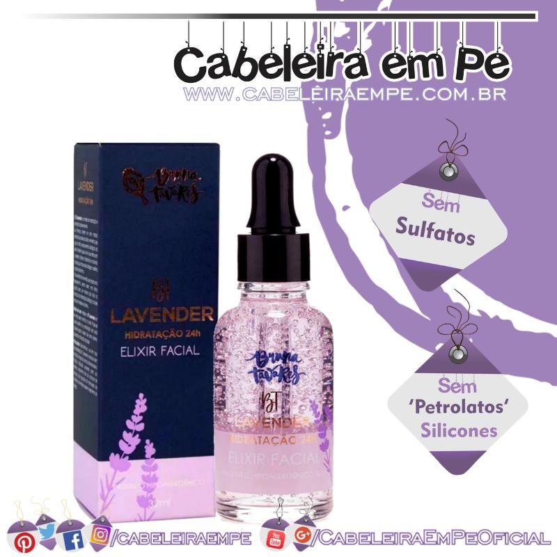 Elixir Facial Hidratação Lavender - Bruna Tavares