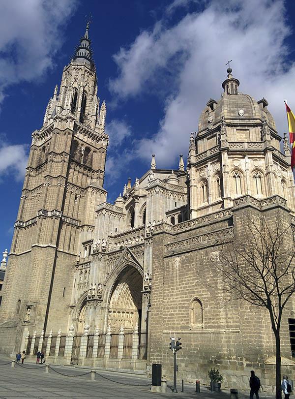 Fachada Toledo Catedral