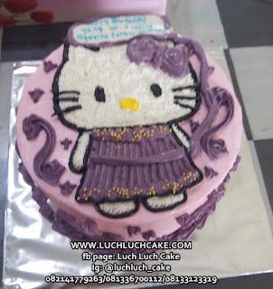 Kue Tart Hello Kitty Lucu Sebadan