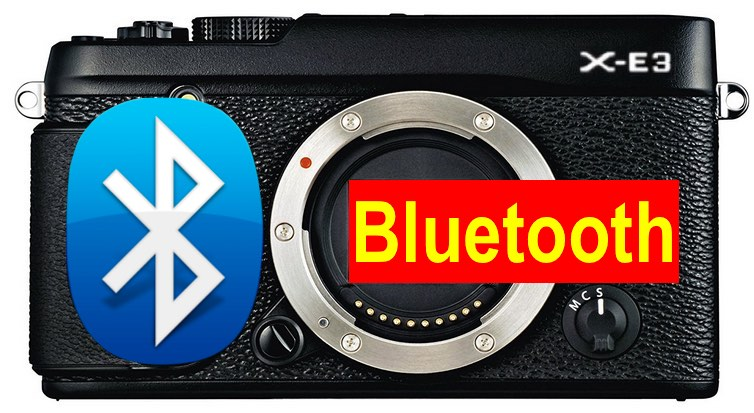 Камера Fujifilm X-E3 получит Bluetooth