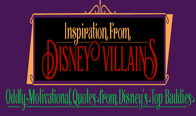 Inspiration from Disney Villains