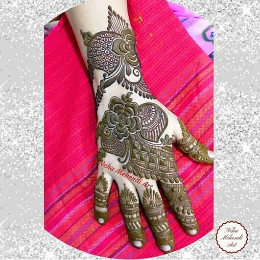 Best Arabic Mehndi Design For Wedding Season In 2019 Fashion