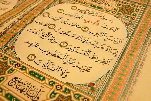Image result for hebatnya surah al fatihah