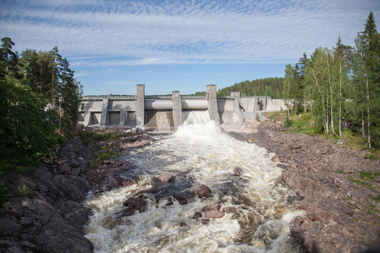 Koskinäytös 2019 Imatra Suomi Finland