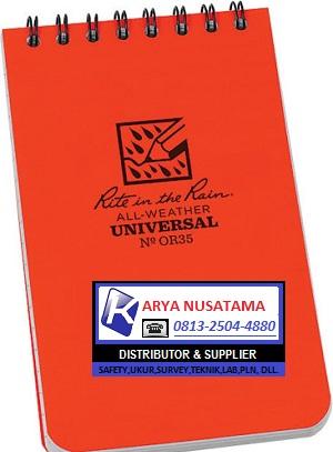 Jual Buku Tulis RR73OR Orange Top Spiral 3X5 di Malang