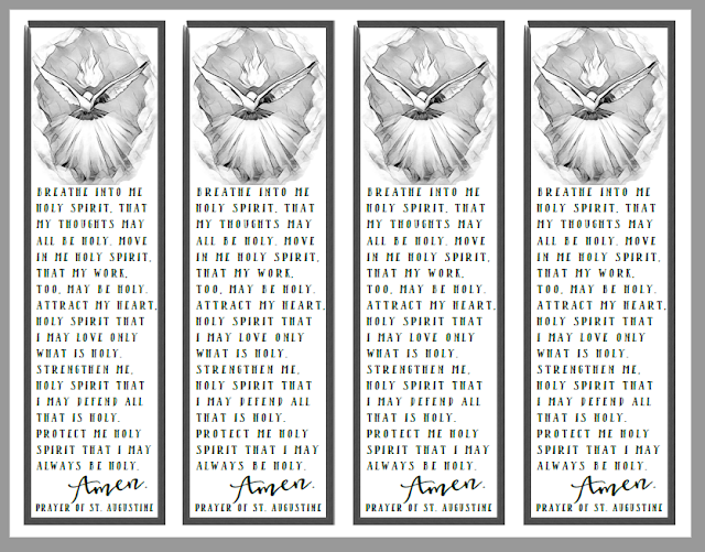 picture about Come Holy Spirit Prayer Printable named Christian Investigation Instruments: No cost Bookmarks