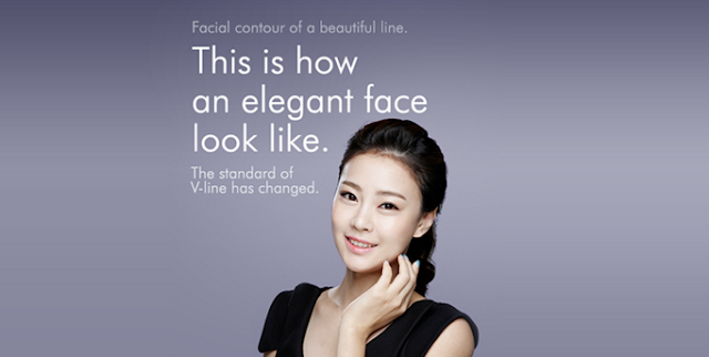 Korean Face Contouring, Standard of V-line Has Changed