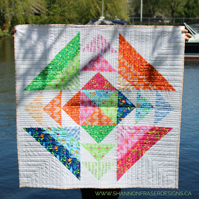 Frolic Fabric + Spring is in the Air Quilt Pattern Giveaway | Shannon Fraser Designs | Michael Miller Fabrics | Tamara Kate | Frolic Fabric Collection | Fat Quarter Bundle | Quilting Cotton