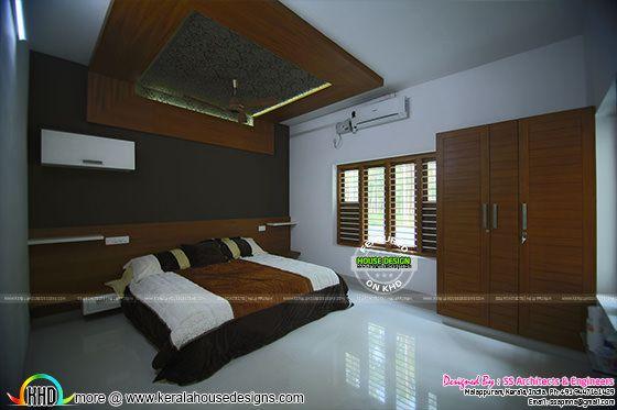 Master bedroom furnished interior