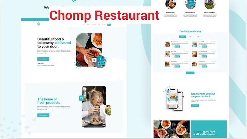 Chomp Restaurant Responsive Wordpress Template