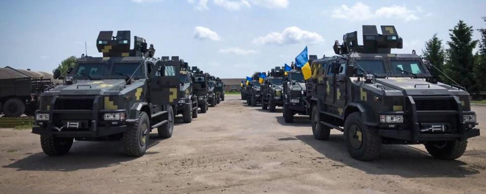 Морська піхота отримала бронеавтомобілі Козак-2