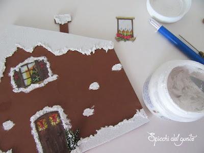 crea una gingerbread house fai da te