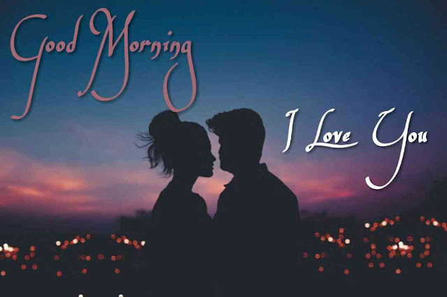 Romantic good morning kiss images