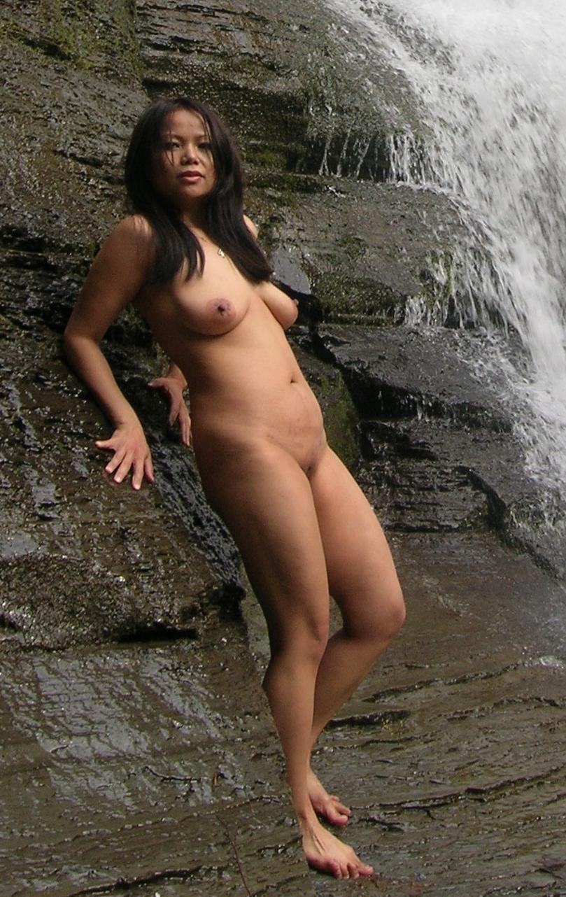 Black naked girls from indonesian