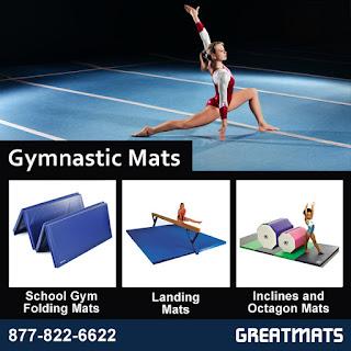 Greatmats Gymnastics Mats infographic
