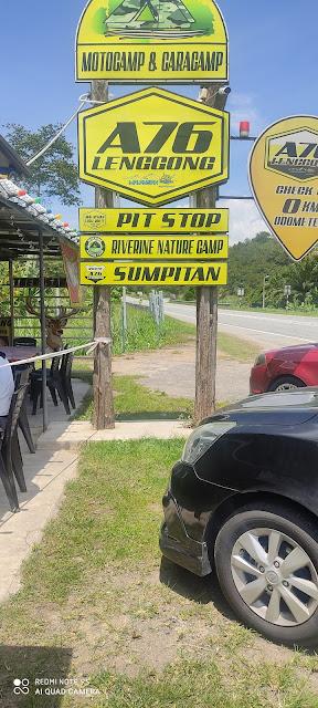 Makan Daging Rusa di Route A76 Sumpitan Lenggong
