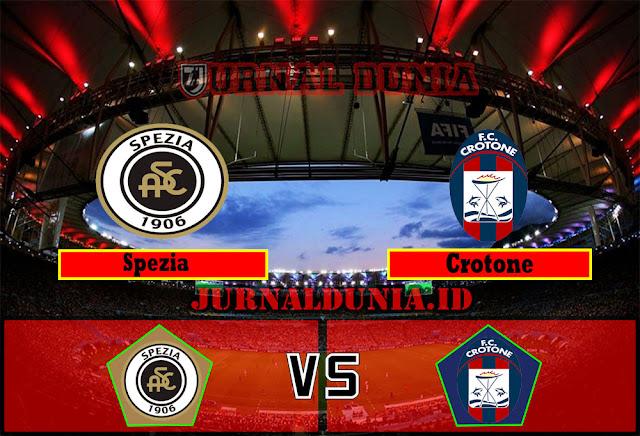 Prediksi Spezia vs Crotone , Sabtu 10 April 2021 Pukul 20.00 WIB