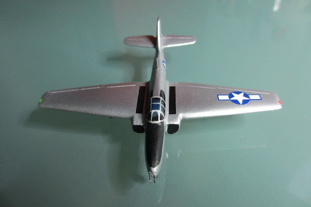 1/144 Bell P-59 Airacomet diecast aircraft