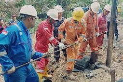 Pertamina EP Tutup 25 Sumur Minyak Ilegal di Kabupaten Batanghari