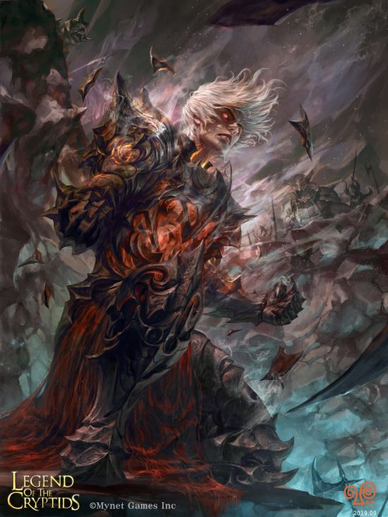 Mansik Yang artstation deviantart arte ilustrações fantasia games sombrio