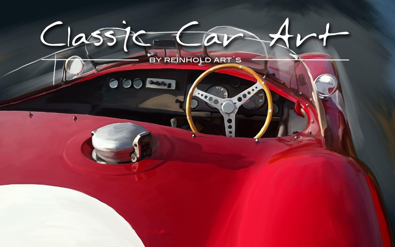 Reinhold Classic Car Art