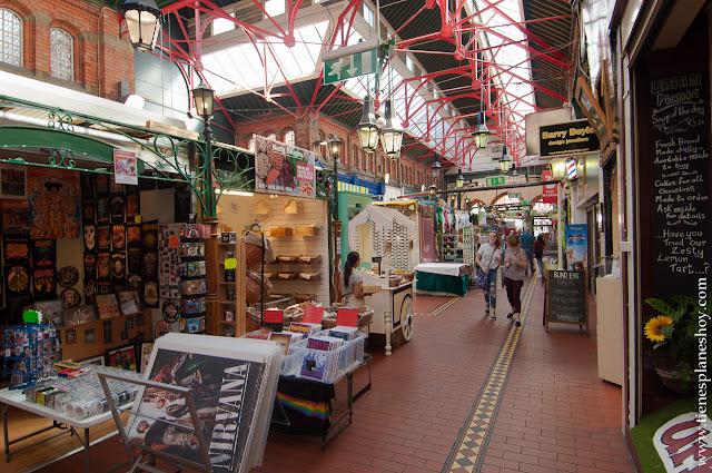 Mercado Dublin Irlanda Market