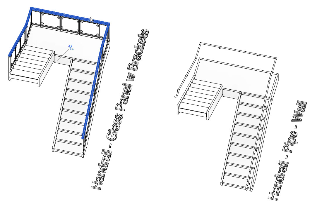 BIM Chapters: New Revit 2019 Sample File - Stair and Railing System