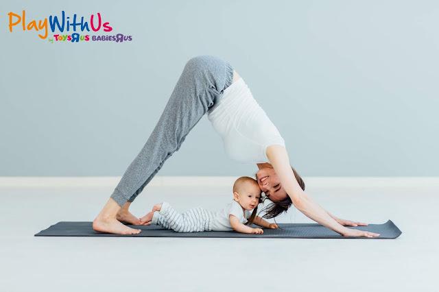 yoga pour maman et bébé