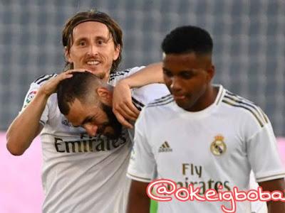 Real Madrid wins its 34th la liga title (Photos)