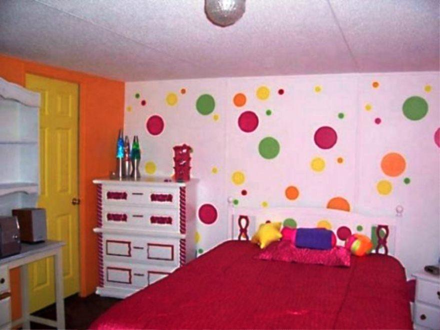 Motif Wallpaper Dinding Untuk Kamar Anak Perempuan Cantik