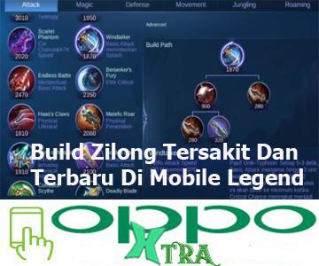 Build Zilong Tersakit Dan Terbaru Di Mobile Legend