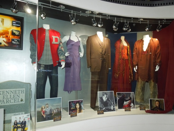 TV movie costumes NBC Universal Experience