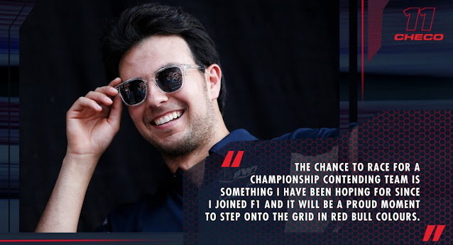 Sergio Perez Red Bull 2021