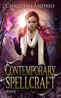 Contemporary Spellcraft - a gritty YA Urban Fantasy book promotion sites Christian Andreo