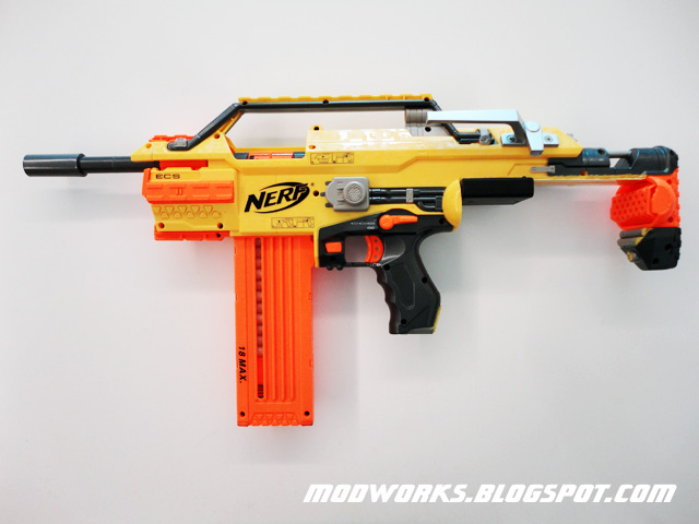 Mod Works Nerf Stampede Quot Brass Breech Quot Mod Guide