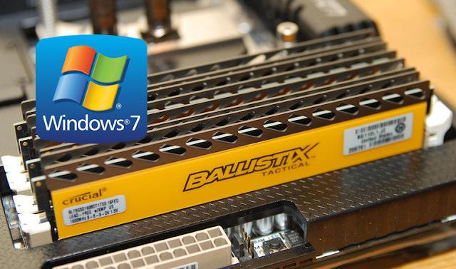 Cara Menambah RAM Komputer Windows 7
