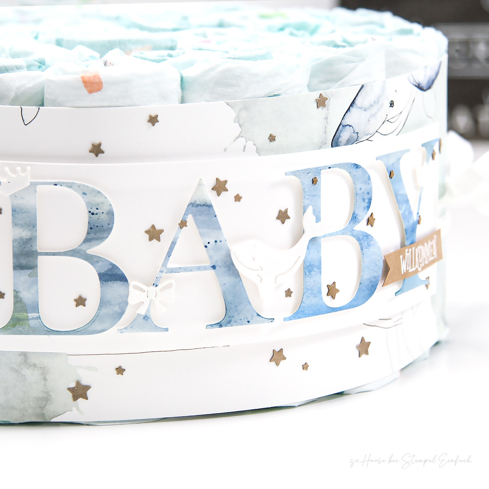 baby-windeltorte