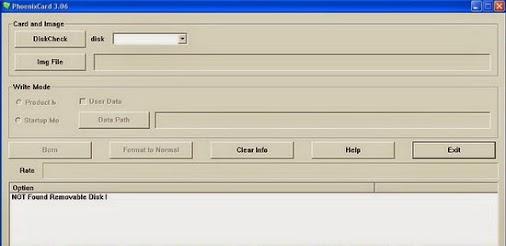 Software tools: download phoenixcard v3 06.