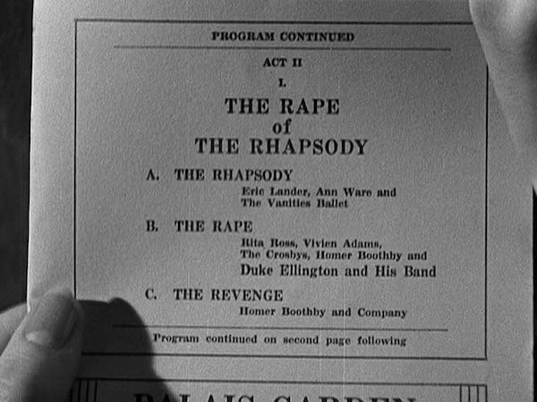 The Rape of the Rhapsody