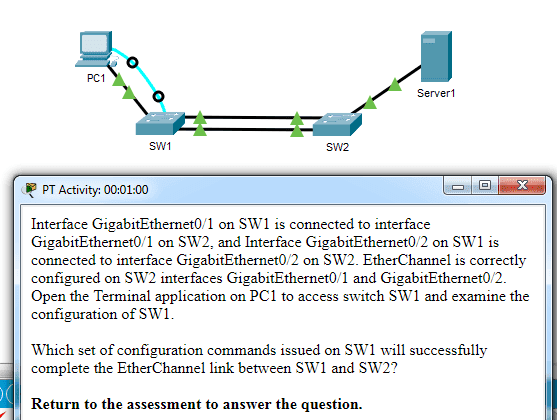 CCNA 2 v7.0 Modules 5 – 6 Exam Answers p36