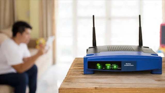 Router at the right spot