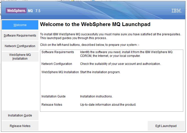 MQ Tutorials: WebSphere MQ 7 5 Installation