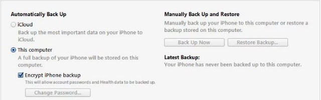 How to Factory reset iPhone Device