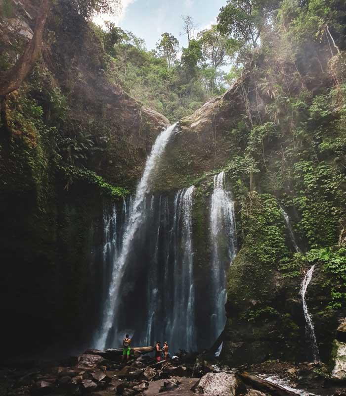 Fasilitas Tiu Kelep Waterfall Senaru