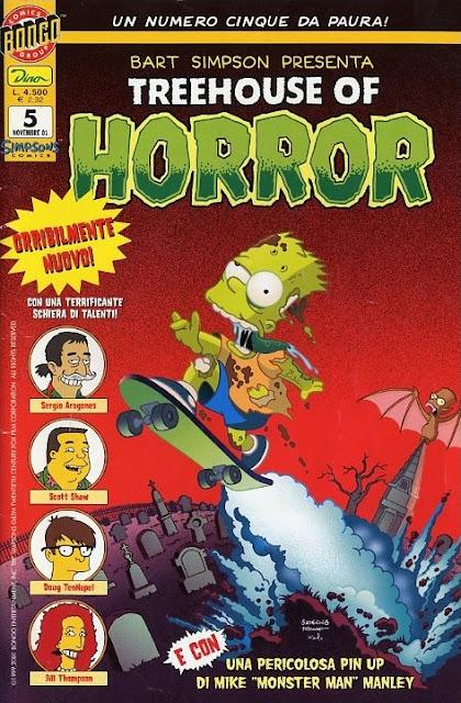"Bart Simpson presenta ""Treehouse of Horror"""