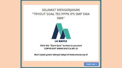 Tryout CPNS Online Gratis PPPK Guru IPS